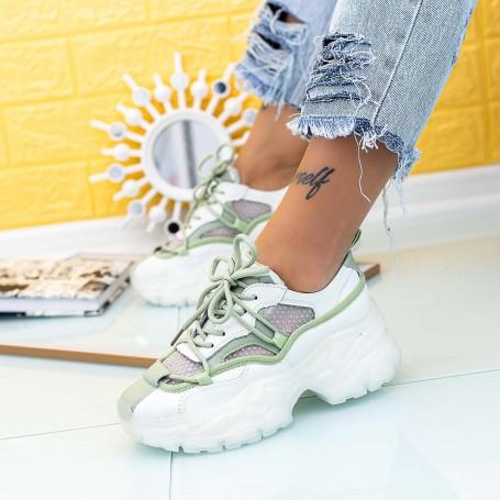 Pantofi Sport Dama SZ307 Verde Mei