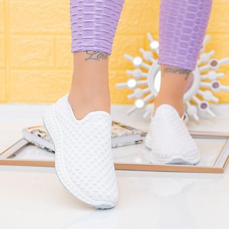 Pantofi Sport Dama TF1 White (L80) Mei