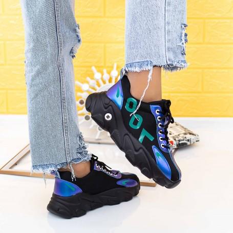 Pantofi Sport Dama 2053 Negru Mei
