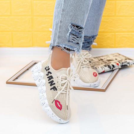 Pantofi Sport Dama LGMB8 Bej Mei