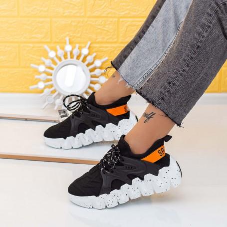 Pantofi Sport Dama LGMB9 Negru Mei