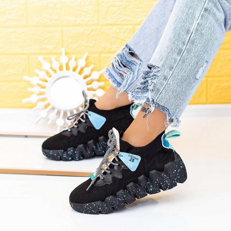 Pantofi Sport Dama LGMB10 Negru Mei