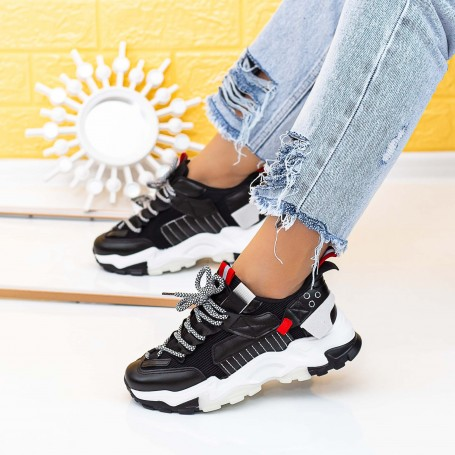 Pantofi Sport Dama LGYED11 Negru Mei