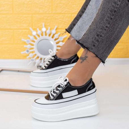 Pantofi Sport Dama SJN371 Negru Mei