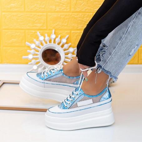 Pantofi Sport Dama SJN371 Albastru Mei