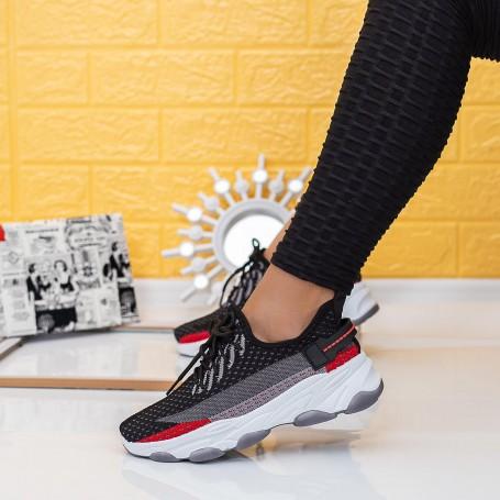 Pantofi Sport Dama TF9 Negru Mei