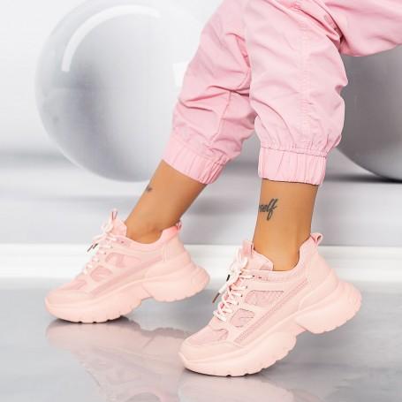 Pantofi Sport Dama LGYED9 Roz Mei