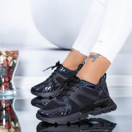 Pantofi Sport Dama AN88 Negru Mei