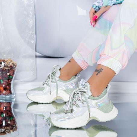 Pantofi Sport Dama SZ309 Verde Mei