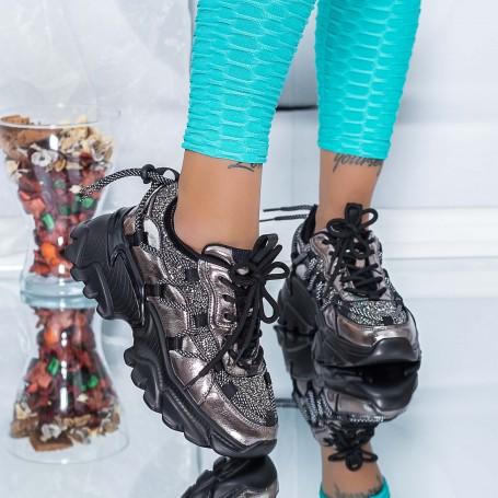 Pantofi Sport Dama SZ339 Guncolor Mei