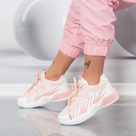 Pantofi Sport Dama HMM32 Roz Mei
