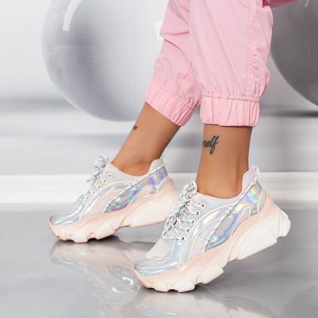 Pantofi Sport Dama SZ306 Roz Mei
