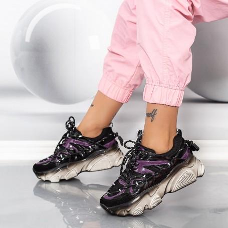 Pantofi Sport Dama SZ316 Negru Mei