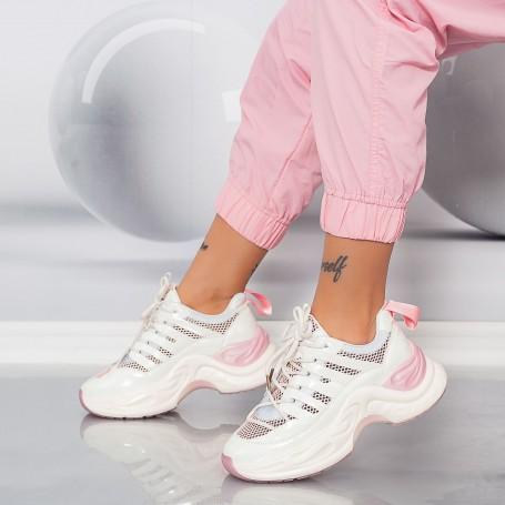 Pantofi Sport Dama SZ323 Roz Mei