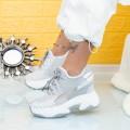 Pantofi Sport Dama cu Platforma WL1 Gri (P17) Mei