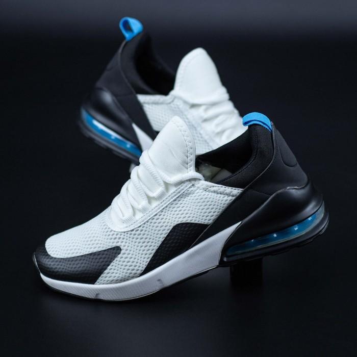Pantofi Sport Barbati 270-1 Alb-Albastru Mei