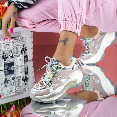 Pantofi Sport Dama SZ311 Roz Mei