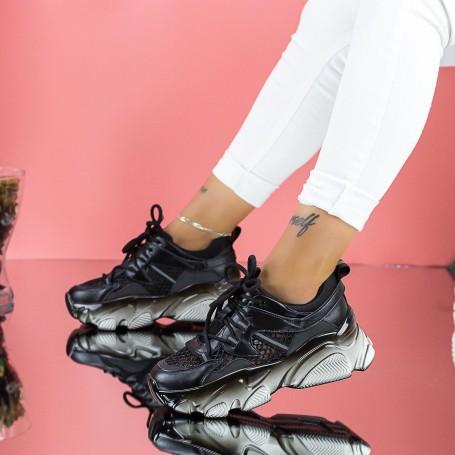 Pantofi Sport Dama SZ313 Negru Mei