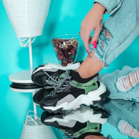 Pantofi Sport Dama JG16 Negru Mei