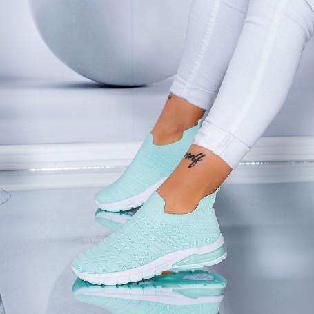 Pantofi Sport Dama S5 Turcoaz Mei
