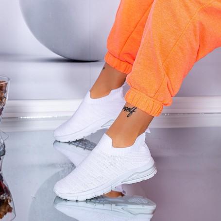 Pantofi Sport Dama S5 Alb Mei
