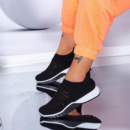 Pantofi Sport Dama S6 Negru Mei