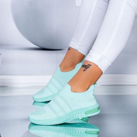 Pantofi Sport Dama S11 Turcoaz Mei