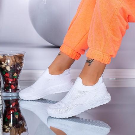 Pantofi Sport Dama S8 Alb Mei