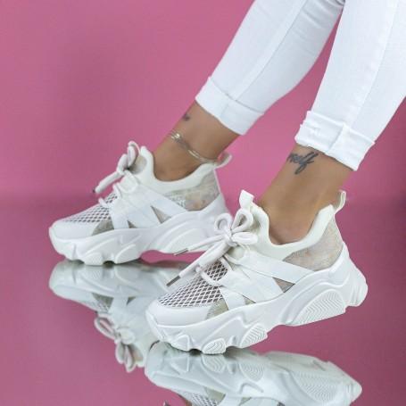 Pantofi Sport Dama SZ303 Bej Mei