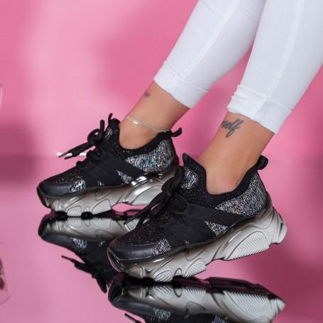 Pantofi Sport Dama SZ303 Negru Mei