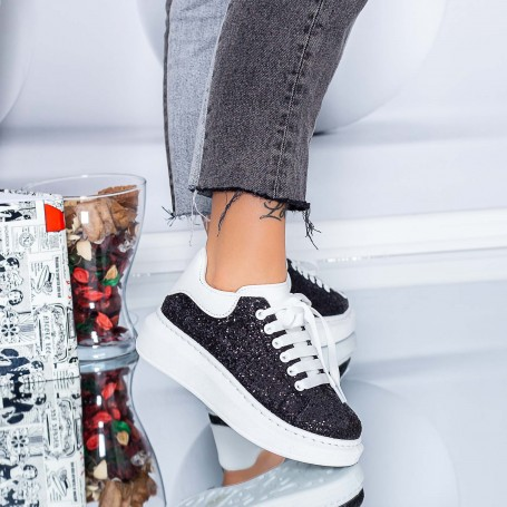 Pantofi Sport Dama XJ1 Negru Mei