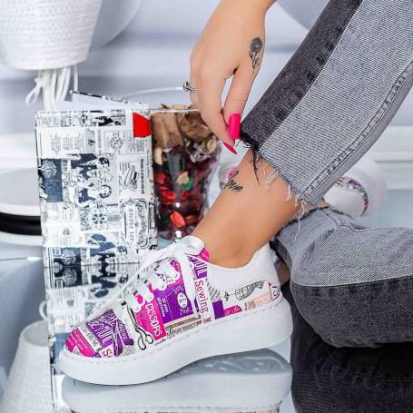 Pantofi Sport Dama XJ2 Roz Mei