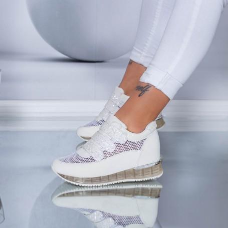 Pantofi Sport Dama SZ170 White Mei