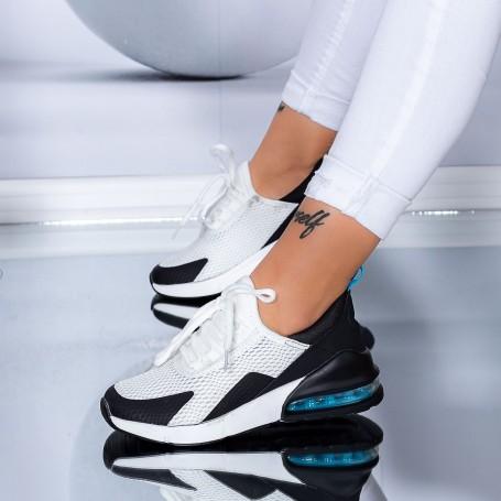 Pantofi Sport Dama 270-1 Alb-Albastru Mei