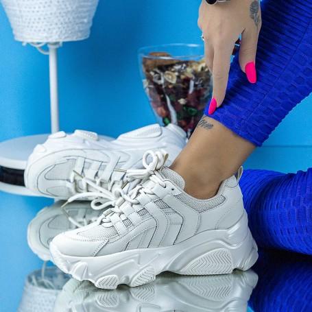 Pantofi Sport Dama SZ326 Bej Mei