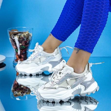 Pantofi Sport Dama SZ333 Bej Mei