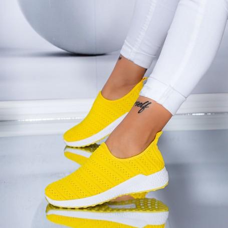 Pantofi Sport Dama TF7 Galben Mei