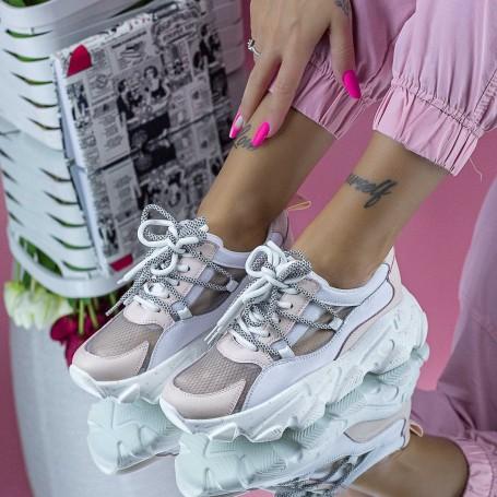 Pantofi Sport Dama SZ327 Roz Mei