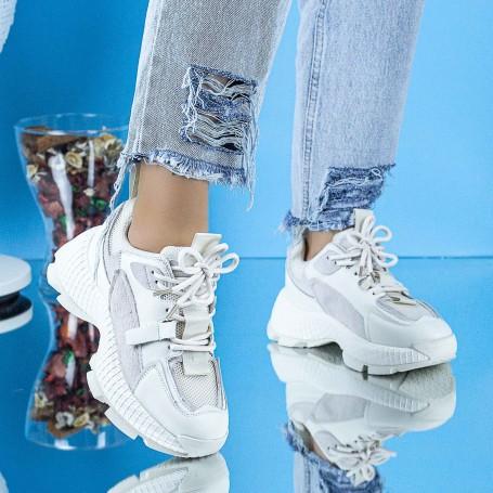 Pantofi Sport Dama SZ336 Bej Mei