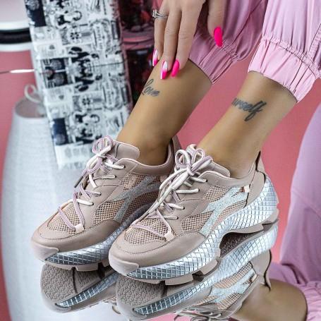Pantofi Sport Dama SZ332 Roz Mei