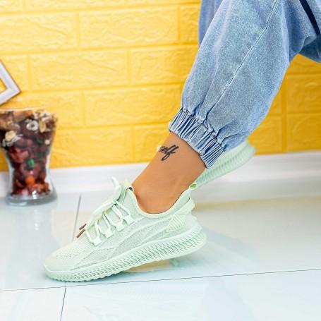 Pantofi Sport Dama JG29 Verde Mei
