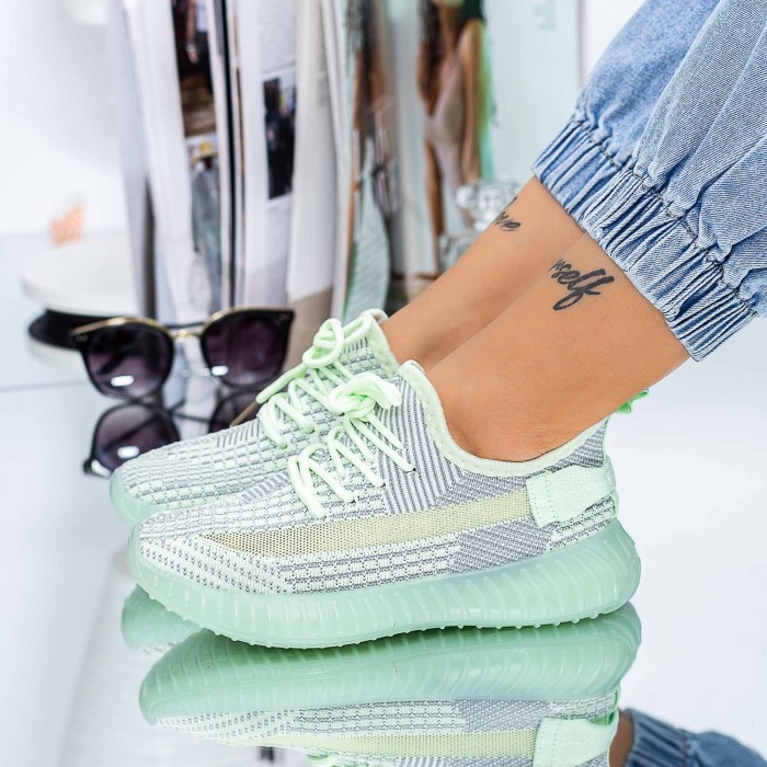 Pantofi Sport Dama XC26 Verde Mei