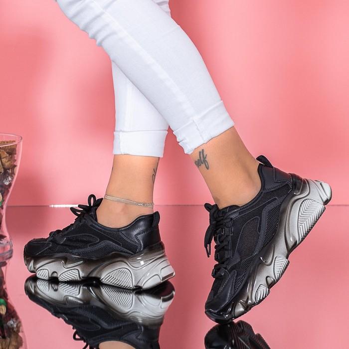 Pantofi Sport Dama SZ315 Negru Mei