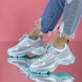 Pantofi Sport Dama SZ329 Verde (P10) Mei