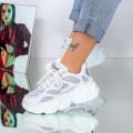 Pantofi Sport Dama 20A13 Argintiu (---) Mei
