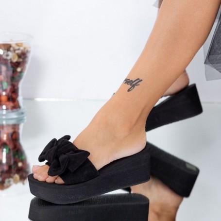 Papuci Dama WLXX5 Negru Mei