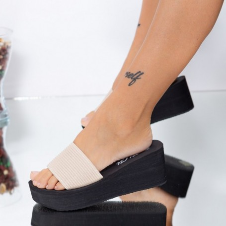 Papuci Dama WLXX6 Bej Mei