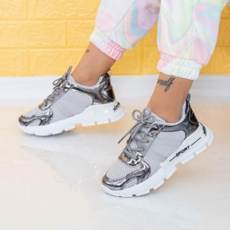 Pantofi Sport Dama AN88 Gri Mei