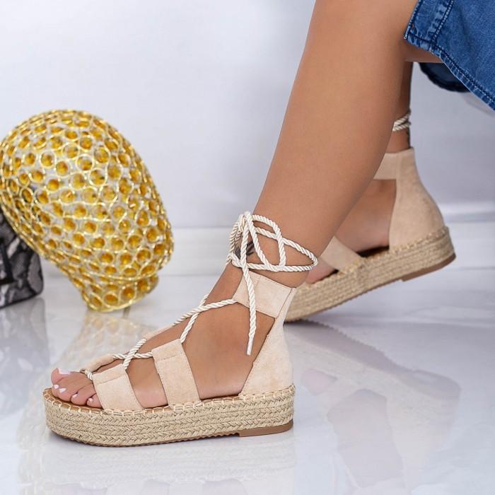 Sandale Dama LE221 Bej Mei