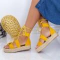 Sandale Dama LE221 Galben (K26) Mei